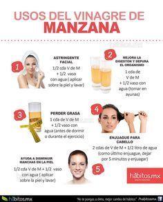 Hábitos Health Coaching   USOS DEL VINAGRE DE MANZANA 2!!!