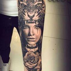 tattoo wolf amazone - Pesquisa Google