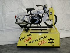 Ghosts Of The Great Highway: Retro Rides. Vintage Coin Operated Kiddie Rides.