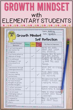 Do your students have a growth mindset or a fixed mindset? Here are some engaging ideas and activities for elementary kids. These lessons are designed as a way to foster a Growth Mindset culture in your classroom with your students. if you're interested in seeing more of my Growth Mindset Resources including book and video links you can check them out here! Mrs. Winters Bliss #growthmindset #studentmindset #elementaryteachingideas