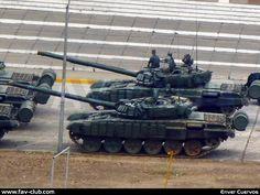 T-72B1 tanks of 41 Armoured Brigade, Venezuelan Army.