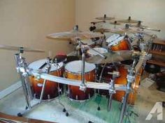 Large Pearl Drum Kit w/Cymbals - $2100 (Boiling Springs, SC)
