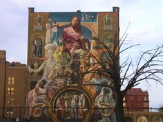 The Mural Arts Program is one of the largest public art initiatives in the country 3d Street Art, Murals Street Art, 3d Wall Murals, Art Mural, Mural Painting, Paintings, Brotherly Love, Art Programs, Spring Garden