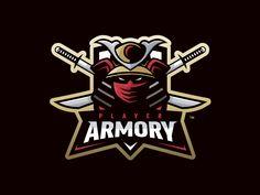 "Confira este projeto do @Behance: ""Player Armory - Mascot Logo"" https://www.behance.net/gallery/30758983/Player-Armory-Mascot-Logo"