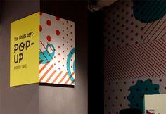 The Goods Dept Pop-Up Store/Cafe by Retno Hadiningdiah, via Behance