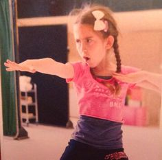 Chloe Hawthorn in rehearsals for Matilda the Musical West End
