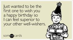 Funny birthday ecards are the best way to wish someone for his/her birthday. Sending funny birthday ecards can be good idea. Funny birthday ecards will make the moments even more delightful. Free Funny Birthday Ecards, Birthday Wishes Funny, Birthday Messages, Birthday Quotes, Birthday Greetings, Birthday Funnies, Birthday Ideas, Birthday Humorous, Office Birthday