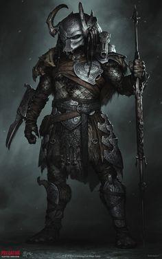 Alien Vs Predator, Predator Hunting, Predator Movie, Predator Alien, Predator Cosplay, Predator Costume, Fantasy Character Design, Character Art, Alien Concept Art