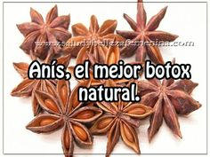 Anise, the best natural botox - Women& Health and Beauty .- Anís, el mejor botox natural – Salud y belleza femenina Anise, the best natural botox – Women& Health and Beauty - Beauty Care, Diy Beauty, Beauty Hacks, Beauty Ideas, Homemade Beauty, Face Beauty, Anti Ride Naturel, Creme Anti Rides, Skin Treatments