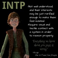 INTP - just like me -- you can't imagine what this picture means to me right now...