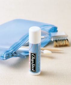 Use your lip balm as a cuticle moisturizer, very handy