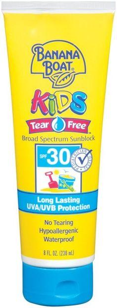 Banana Boat SPF 30 Kids Sunblock Lotion  8 Fl Oz Tube