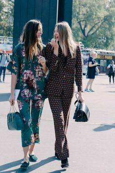Sleepwear Trends:大膽穿睡衣出門吧!2016年春夏的睡衣風潮 - The Femin