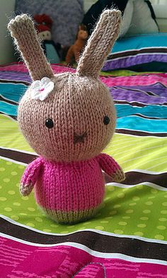 Knitted Bun Bun The Bunny - Free Pattern - PDF Download, thanks so xox