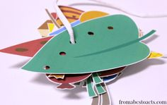 The Very Hungry Caterpillar by Eric Carle. Printable Fine Motor Sequencing Activity - Preschool.