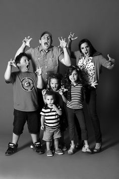 The Shaytards from youtube.com/shaytards. This whole family is such a life inspiration to me as a whole person, for a family leader, and as a christian.