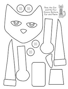 Sparkling In Kindergarten: Favorite Pin Friday Linky Party (Favorite Pins Link) Cat Coloring Page, Coloring Pages, Coloring Sheets, Pete The Cat, Memorial Day, Cat Activity, Library Lessons, Library Week, Reading Lessons