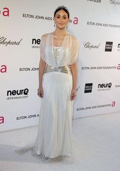 Emmy Rossum Evening Dress