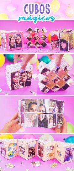 ideas para regalos Bf Gifts, Boyfriend Gifts, Diy Paper, Paper Crafts, Diy And Crafts, Crafts For Kids, Ideas Aniversario, Pop Up Cards, Card Tutorials