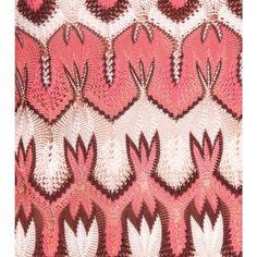Missoni Jessica knit top detail
