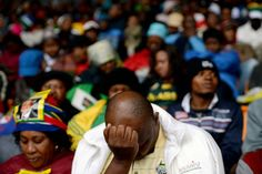 Tens of thousands of mourners gathered at Johannesburg's Soccer City Stadium to pay their respects at a memorial service for fallen South African leader Nelson Mandela.