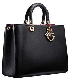 Elegant Black Leather Handbag