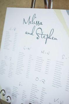 Wedding Seating Charts Wedding Invitations Photos on ...