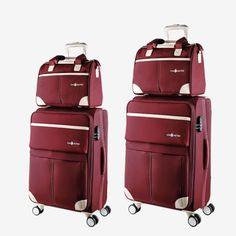 Hot Brand Men Women Travel Suitcase Spinner Wheels Trolley Luggage Bags Boarding Password Lock Travel Luggage Sets