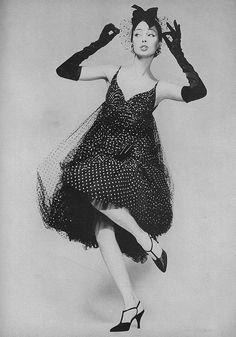 Dolores Hawkins, Harper's Bazaar February 1958