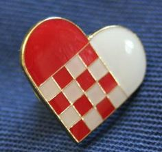 Red/White Danish Woven Heart - one of my favorites