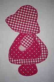 Risultati immagini per cenefa de muñecas en patchwork