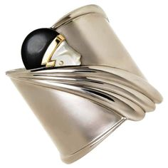 Erté (Romain de Tirtoff) Tempest Cuff Bracelet, signed, Limited Edition #161/600 #Erte #Cuff