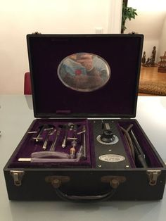 Device for high frequency therapy from around 1925