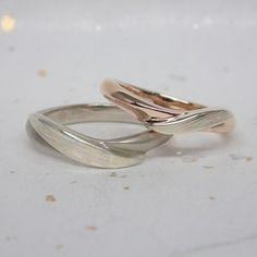 Mokumegane Wedding Ring 杢目金の結婚指輪