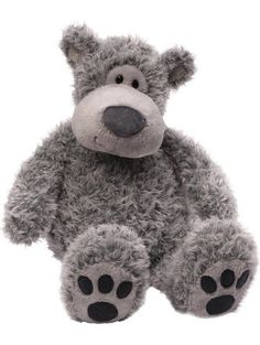 Gund Slouchers Teddy Bear Stuffed Animal ❤ Gund