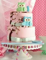 Beautiful Cake Pictures: Pastel Pink Owl Themed Birthday Cake: Birthday Cakes, Pink Cakes, Themed Cakes by ester Owl Cakes, Baby Cakes, Cupcake Cakes, Pink Cakes, Pretty Cakes, Cute Cakes, Yummy Cakes, Awesome Cakes, Beautiful Cake Pictures
