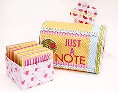 Altered Mailbox & Notecard Set