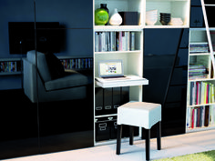 IKEA offers everything from living room furniture to mattresses and bedroom furniture so that you can design your life at home. Check out our furniture and home furnishings! Small Space Living, Small Spaces, Living Spaces, Ikea Interior, Interior Decorating, Interior Design, Built In Computer Desk, Floating Bookshelves, Ikea Home