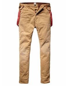 MORRISON - CHINO WITH SUSPENDERS