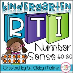 If you have students struggling with number sense, this comprehensive math intervention curriculum can be a great addition to your RTI or small group time! This resource can be used in so many different ways. It was initially designed with kindergarten RTI in mind, specifically to meet the needs of students struggling with number sense.  Additionally, it could be used to support your numeracy instruction in pre-k, kindergarten, first grade, within a small group, for ESL/ELL students, or for…