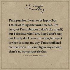 I'm A Paradox