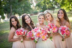 California Wedding- Bridesmaids and Bride Walnut Grove Moorpark, CA #wedding #weddingphotography #cawedding #bridesmaids #weddingflowers