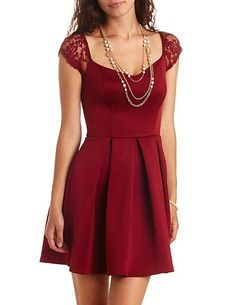 Tulip Bell Sleeve Shift Dress: Charlotte Russe | Outfits i love ...