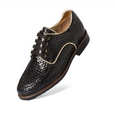 Aerogreen Golf Shoe - Black Iseo