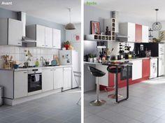 Avant / Après : Relooker une cuisine en 48h
