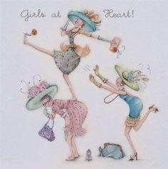 Cards » Girls at Heart » Girls at Heart , Ladies Who Love Life ... Berni Parker funny cute Berni Parker Designs