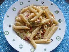 Zucchini - Sahne - Nudeln