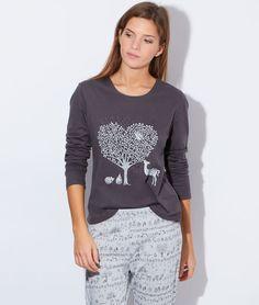Pyjama 3 pieces, veste polaire toucher peluche