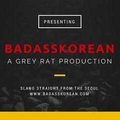 Korean Slang, Learn Korean, Rats, Seoul, Instagram Posts