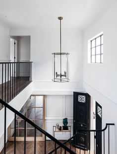 double height foyer